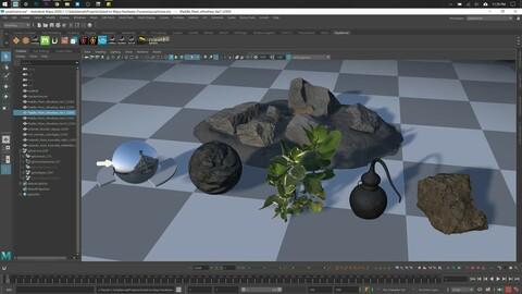 Quixel to Maya Hardware 2.0 | Maya Script