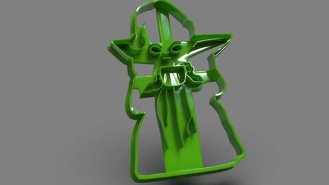 Baby Yoda Full Body X-Mas