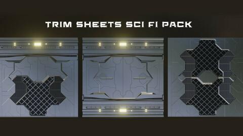 Trim Sheets Sci Fi