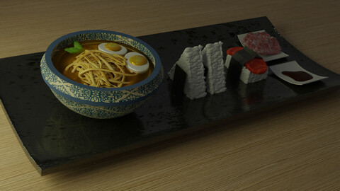 Japanese Food - Ramen, Sushi
