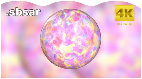 Oil Paint Material Design / Sbsar / Substance Painter / Last Gamer