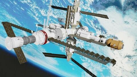 Mir Space Staton
