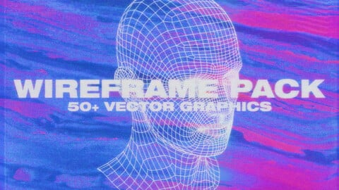 Wireframe Pack - 50+ Graphics