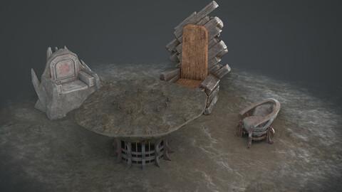 Fantasy Furniture Set 03