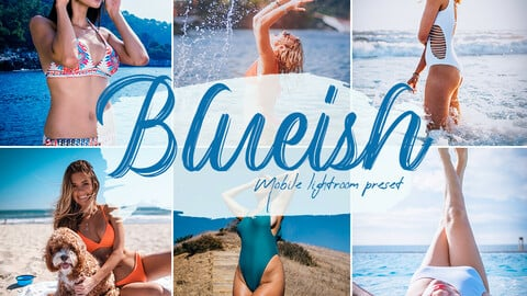 Blueish Lightroom Presets