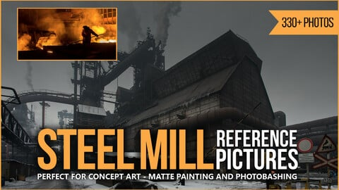 330+ Steel Mill Reference Pictures