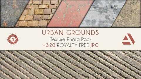 Texture Photo Pack: Urban Grounds