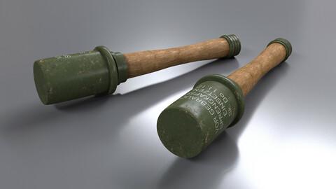 WWII Stick Grenade