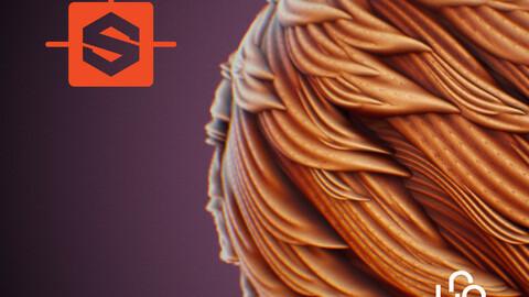 Substance Designer Tutorial - Stylized Fur