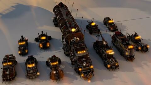 Mega Apocalyptic Car Pack