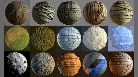 Substance Designer Material Pack - FREE