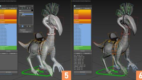 CATRootNode - 3Ds Max CAT Skin Transfer