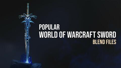 Frostmourne Sword Blender Scene Files