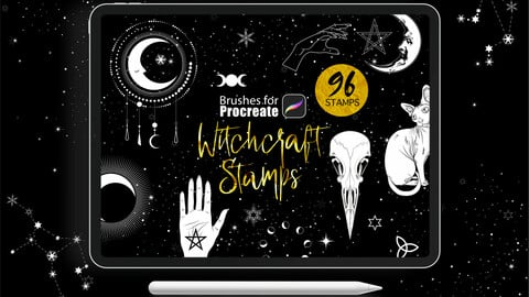 Procreate - Witchcraft Stamps