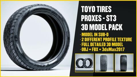TOYO TIRES - ST3 3D Model