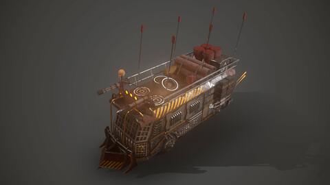 Apocalyptic Bus Vehicle