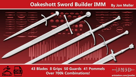 Oakeshott Sword Builder IMM