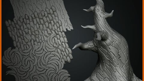 Mini Tutorial how  to create tile texture in ZBrush
