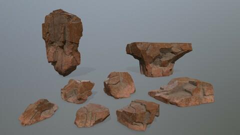 desert rock set