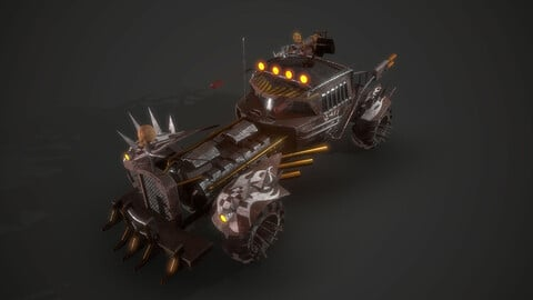 Apocalyptic Nux Vehicle
