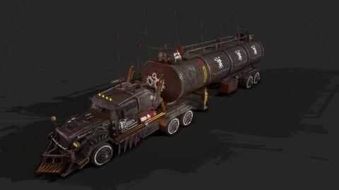 Apocalyptic Big Truck