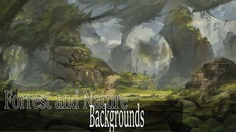 Forrest & Nature Background Pack