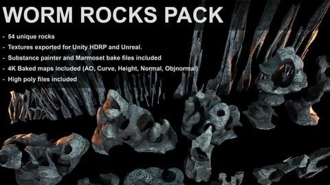 Worm Rocks Pack