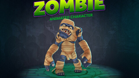 Zombie animated character