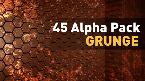 🟥 45 Alpha Pack - Grunge