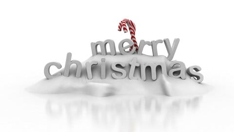 Christmas Snow Decoration