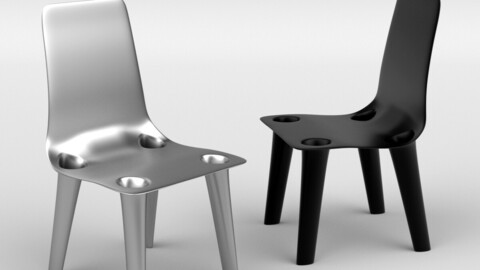 Grown Nickel Chair