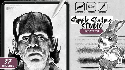 Procreate - Stipple Shading Studio