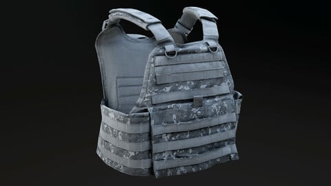 Customizable Combat Vest
