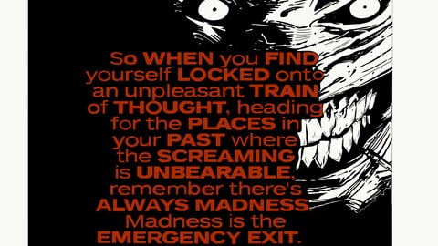 Joker Madness Quote