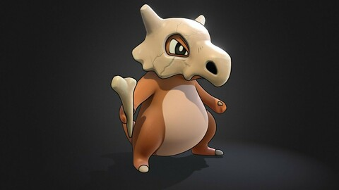 Cubone 3D POKEMON