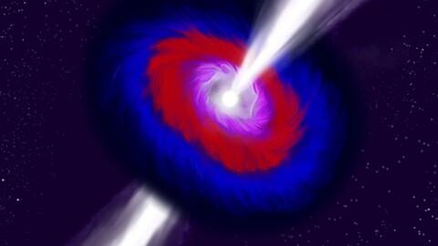 Colorful quasar