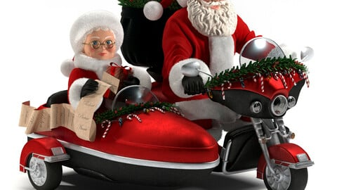 christmas decorative-santa claus