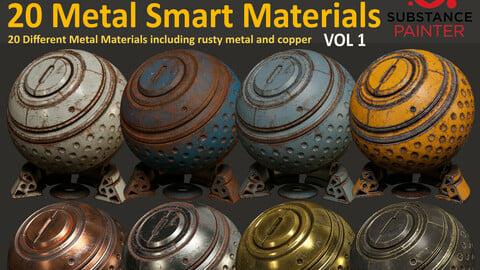 20 Metal Smart Materials - Vol 1