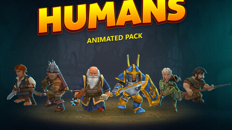 Humans animated pack
