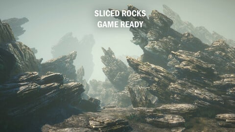 Sliced rocks