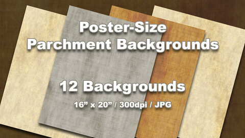16x20 Parchment Backgrounds