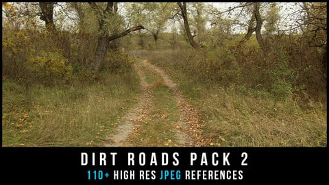 Dirt roads pack 2
