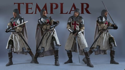 Templar Photo Reference Pack +580 JPEGs