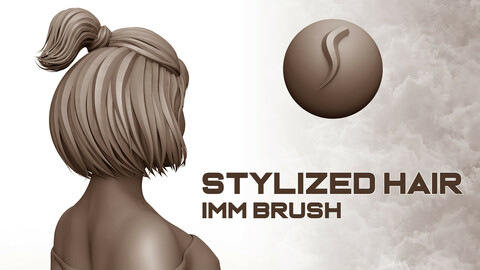 Stylized Hair IMM Brush