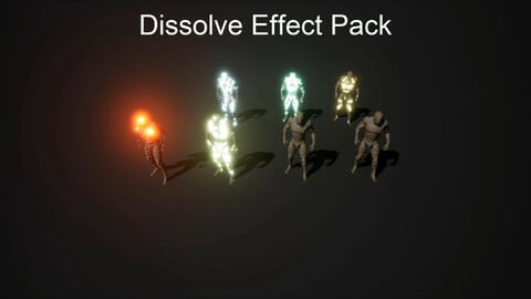 Dissolve Effect Pack For UE4