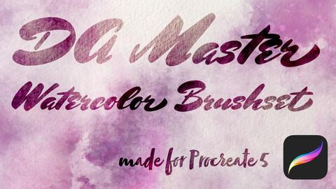 DA Master Watercolor Brushset