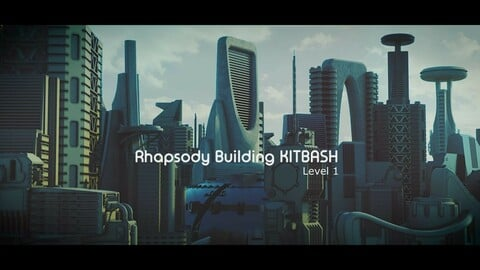 Rapshody Building Kitbash-Level 1