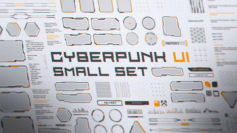 Cyberpunk UI Small Set