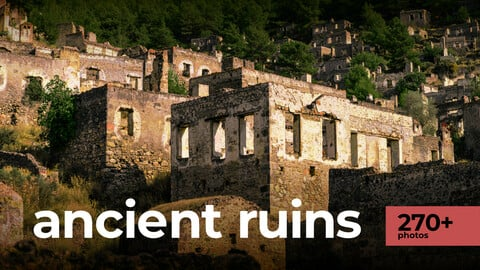Ancient Ruins, Environment Refrence Pictures.