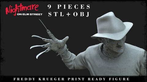 FREDDY KRUEGER printable 3D figure